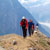 Hiking a ridgeline to Crazy Horse, Cariboo Mountains